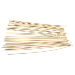 bâtons de rotin Promotion Gros-500pcs / lot 22cm x 3mm Rotin Reed Diffuseur Recharge Rattan Sticks / Bâtons Aromatiques Pour Parfum Livraison Gratuite