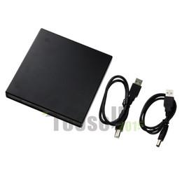 Wholesale Drive Write - New USB 2.0 External Slim CD±RW DVD ROM Combo Drive Combo CD-RW Burner Drive CD RW USB Can Write CD-RW FreeShipping