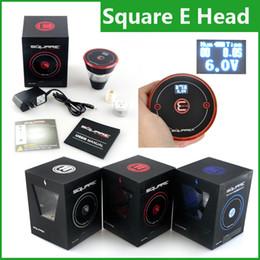 Wholesale Ecig Heads - Square E head e hose e shisha 2400mAh cartridge refillable disposable Hookah Rechargeable E-Head Vaporizer ECig Kit