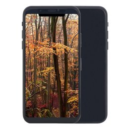 Wholesale Russian Shopping - 5.8 inch Goophone X Face ID 3G WCDMA Quad Core 1GB 16GB+32GB Android 7.0 Smartphone + Wireless Charger + Spinner Ring Holder + Shopping Bag