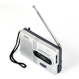 alto-falantes de rádio ds Desconto BC-R21 Mini Rádio Portátil AM FM Antena Telescópica Rádio Mundial Receptor Speaker DC 3 V boa qualidade