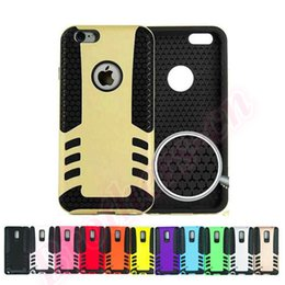 Wholesale Iphone Hard Gel Case - Free Shipping For iPhone 6 4.7inch 6G Plus 5.5inch Samsung S5 Note 4 3 Rocket Style Shockproof Hybrid 2 in1 TPU PC Hard Case Gel Cover