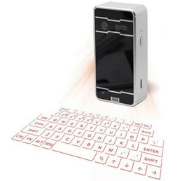 Wholesale Mobile Bluetooth Wireless Keyboard - New product Magic cube wireless virtual laser keyboard via bluetooth for notebook,mobile phone,macbook pro,tablet PC computer,notebook