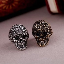 Wholesale Mysterious Rings - Fashionable Alloy Rings Skull Shape Skeleton Mysterious Style New Arrival Lucky Ring Hot Sale Free shipping
