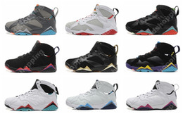 Wholesale Gs For Sale - 7 GS Court Purple Hare Marvin the Martian Bobcats French Blue Easter Womens Basketball Shoes 7s Sports Shoes Sneakers For Sale