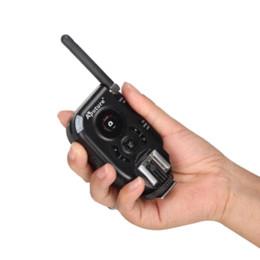 Wholesale Aputure Flash Pentax - Aputure Trigmaster Plus II Transmitter+3 Receivers Flash Trigger for Canon Nikon Pentax Olympus DSLR Camera flash distance