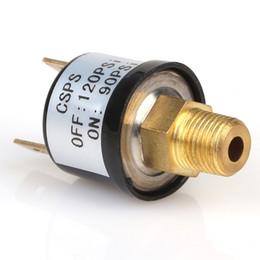 Wholesale Pressure Switch Control - Wholesale-New 90 PSI -120 PSI Air Compressor Pressure Control Switch Valve Heavy Duty