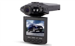 Wholesale Manufacturer Car Dvr - The new recorder tachograph driving recorder HD car manufacturers 1280P2.5 inch LCD Vehicle Car DVR Recorder 6 LED lights with audio and Nig