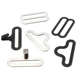 clip krawatten großhandel Rabatt Wholesale-50 Sätze Fliege Clip Hardware Cravat Clips Haken Fastener für Krawatte Strap
