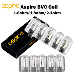 Wholesale Aspire Coils - 100% Authentic Aspire BVC Coils Head for Aspire BDC Atomizer CE5 BDC Atomizer ET BDC Atomizers CE5-S BDC ET-S BDC Dual Coils