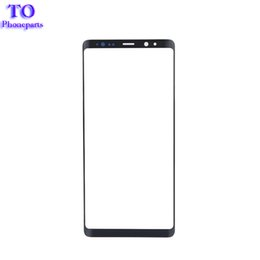 Argentina 50Pcs OEM Oluter Glass Panel para Samsung Galaxy Note 8 N950 N950F Pantalla LCD frontal Lente de cristal exterior libre de DHL cheap front lcd glasses Suministro