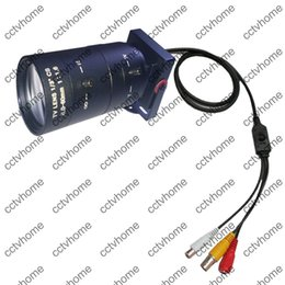 Wholesale Effio P Mini - Mini HD Camera Sony Effio-E 700TVL 6-60mm Manual ZOOM Lens A V OSD CCTV Security camera with MIC