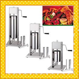 Wholesale Stainless Steel Enema - sausage stuff equipment 5L stainless steel vertical enema machine sausage machine commercial enema machine CE certification