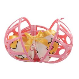 Wholesale Bra Washing Bubble - Practical Bubble Bra Double Ball Saver Washer Bra Laundry Wash Washing Ball PTSP