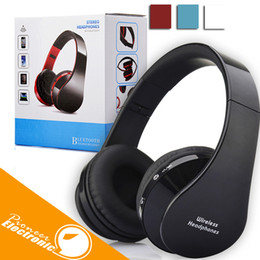 Wholesale Foldable Stereo Headphones - V3.0 Bluetooth Wireless Headphone Foldable Hi-fi Stereo Earphone Headset for Smart Phones With Retailbox Free Shipping