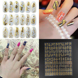 Wholesale Decals Nail Art Sticker - Hot Seller Women's Lady's 108Pcs On A Paper Flower 3D Nail Art Stickers Decals Manicure Decor ID2 Free Shipping