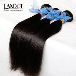 Wholesale Hair Dye Wholesale Cheap - 3Pcs Lot Filipino Virgin Hair Straight Unprocessed Virgin Filipino Hair Extensions Cheap Remy Human Hair Weaves Bundles Tangle Free Can Dye