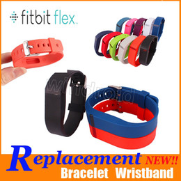 Wholesale Flex Styles - New style Replacement TPU Fitbit Flex Wireless Wristband Activity Bracelet Wrist Strap With Metal Clasp Colorful Free shipping 50pcs