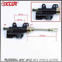 Wholesale Atv Foot Brake - M8 REAR FOOT BRAKE PUMP brake Lever Hydraulic Master Cylinder oil pump For dirt pit bike ATV 50cc - 150cc