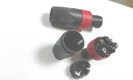 Adaptador de cable de audio compatible de alta calidad con conector macho Speakon de 4 clavijas rojo desde fabricantes
