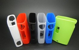 Wholesale Silicon Grip - Silicone Case Silicon Cases Bag Colorful Rubber Sleeve Box protective cover colorful protector Skin For Egrip e grip OLED BOX MOD