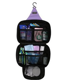 Wholesale Hanging Wash - Casual Hanging Waterproof Travel Toiletry Wash Makeup Storage Cosmetic Organizer makeup Bag