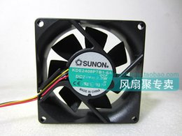 Wholesale Fan Drive - Original Sunon KDE2408PTB1-6A 8025 24V 2.8W 8cm drive cooling fan
