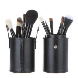 Wholesale High Quality Makeup Brushes Set - 2015 Valentine Makeup brushes 12pcs set 4 colors party brushes cup&case nude makeup brush set cosmetic high quality makeup brushes