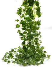 Wholesale vines leaves - Artificial Plants Ivy Leaves Beebel 85Ft 12 strands Artificial Fake Leaves Hanging Vines Plant Leaves Garland Home Garden Poison Ivy Costume