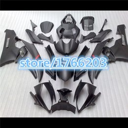 Wholesale Motorcycle Fairing Kit Yamaha Yzfr6 - Motorcycle Fairing kit for YAMAHA YZFR6 06 07 matte black YZF R6 2006 2007 YZF600 ABS Fairings set