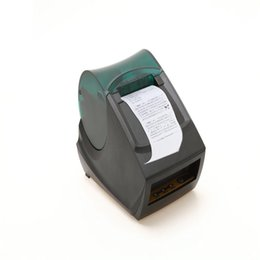Wholesale Pos Printers - US Stock! USB Mini POS ESC Thermal Receipt Printer Bill Printers Set 384 Line With 58mm width Roll Paper For Supermarket