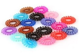 Wholesale Cheap Ties For Women - Wholesale-(100pcs lot) cheap fashion women hairband cute elastic line hair band accessories tie Headwear for girls mix colors