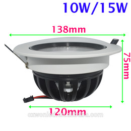 Wholesale Downlight House - 10w 15W LED Downlight size 138*75*120mm SAA CE ROHS approval customers standard wholesale LED downlight housing