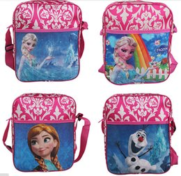 Wholesale Children Birthday Bags - Frozen Bags School Bags For Girls Kids Children Christmas Gift Birthday Gift School Backpacks free shipping