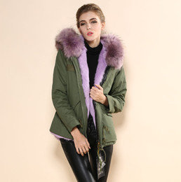 Wholesale Stylish Women Winter Coats - 2015 Mr.Fur Jacket Fashion Stylish Fur European Style Winter Jacket,China cheap fox real collar parka mrs fur coat