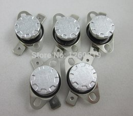Wholesale Thermal Switch Normally Closed - Wholesale-5pcs KSD301 80C 176F Thermostat Normally close NC Temperature Control Switch Switches Temp