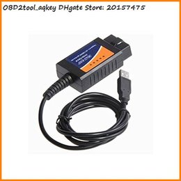 Canada AQkey OBD2tool ELM327 Interface USB OBD2 Diagnostic Auto Auto Scan Tool USB ELM327 OBDII Scanner Cable Car Adaptateur Offre