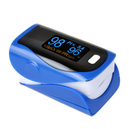 Wholesale Monitor Oximeter - OLED Finger Tip Pulse Oximeter SPO2 Pulse Rate PI (perfusion index) blood Oxygen Oximetro Monitor 4 Directions Display 6 display modes