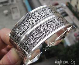 Wholesale Silver Totem Bangle Cuff Bracelet - Hot! New Tibetan Tibet silver Totem Bangle Cuff Bracelet style 1