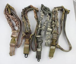 Wholesale Tactical American One Single Point Sling Adjustable Bungee Rifle System Point Strap