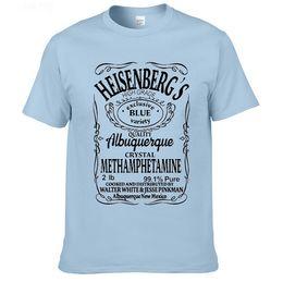Wholesale Cook T Shirts - Wholesale-Breaking Bad T Shirt Men T-Shirt Man Walter White Cook Tops Heisenberg Men Tops Tees Fairy Tail