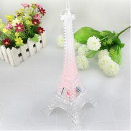 Romantique Creative Tour Eiffel Belle Table Bureau Maison De Mariage Décor Night Light Lampe Décoration Cadeau ? partir de fabricateur