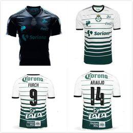 Wholesale Mx Brown - New Arrived Mexico CLUB 17 18 SANTOS LAGUNA DE TORREON Third SOCCER JERSEY MARCA 2017 MANGA LARGA LIGA MX CHIVAS Tigres football shirts