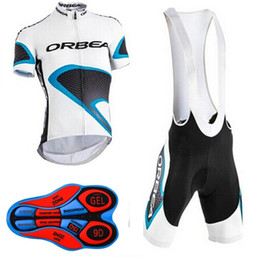 Wholesale Cream Uv - 2017 outdoor sports ORBEA road sportswear mens clothing cycle wear skinsuitteam bike bicycle Cycling Jerseys shirt +bibs shorts sets