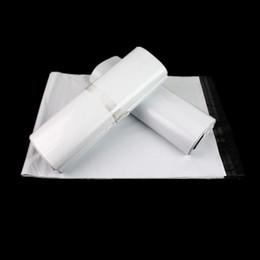 Wholesale Mail Wire - Wholesale- 10PCS LOT 16*22CM White Courier Bags Courier Envelope Shipping Bag Mail Bag
