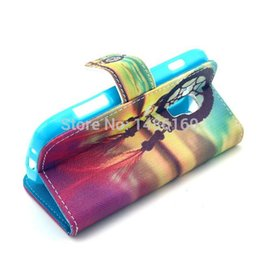 Wholesale S7562 Cases - Wholesale-Luxury Leather Case For Samsung GALAXY Trend Duos S7562 & Galaxy S Duos 2 S7582 &Galaxy Trend Plus S7580 Flip Stand Wallet