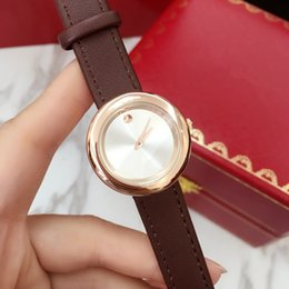 Wholesale Mov Watches - 2017 Fashion Women Watch MOV Top brand Luxury Leather Wristwatch Female Quartz Clock drop shipping Relojes De Marca Mujer free shipping