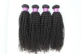 tração de cabelo liso vietnamita Desconto Quente!! Pacote de cabelo brasileiro cabelo da pena pacote peruvian kinky curly 100% não transformados cabelo humano pacote frete grátis