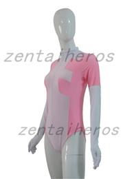 Wholesale Spandex Leotard Kids - Custom Pink And White Newest Deadpool Leotard