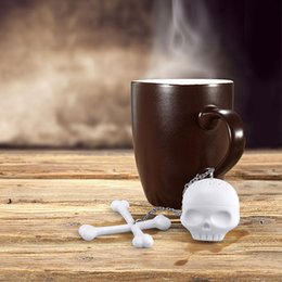 Wholesale Eco T - Free Shipping 1Piece In Stock T-Bones Tea Bones Skull Tea Infuser